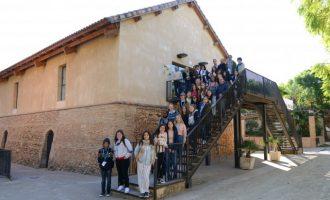 Paiporta rep la visita d'alumnat internacional de cinc països