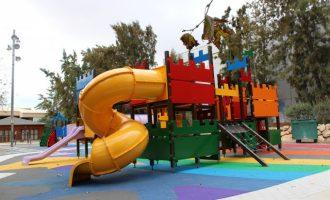 Almàssera acondiciona los parques para el disfrute de los niños