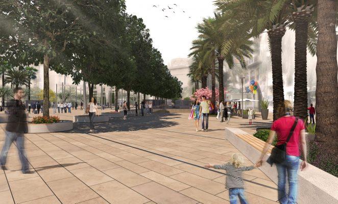Imatge plaça de la Reina (2)