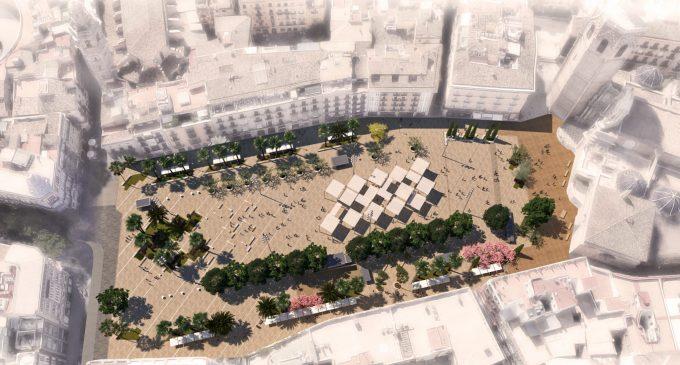 Aprovada la peatonalització de la Plaça de la Reina amb un termini de 12 mesos