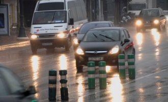 Emergències estableix risc groc per pluges en les tres províncies de la Comunitat Valenciana