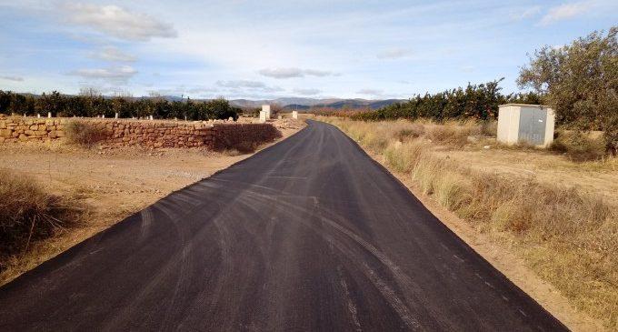 Llíria inverteix 150 mil euros en pavimentar de nous els camins rurals