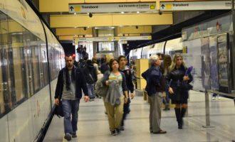 La avería en un tren provoca retrasos generalizados en las líneas 3, 5, 7 y 9 de Metrovalencia
