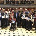 El Ayuntamiento otorga los Premis Implica't