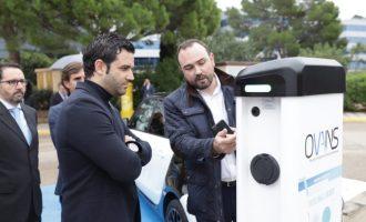 Paterna reforça la seua aposta sostenible amb vehicles elèctrics i punts de recàrrega