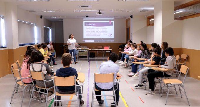 L'alumnat de Torrent participa en tallers contra la violència a les dones