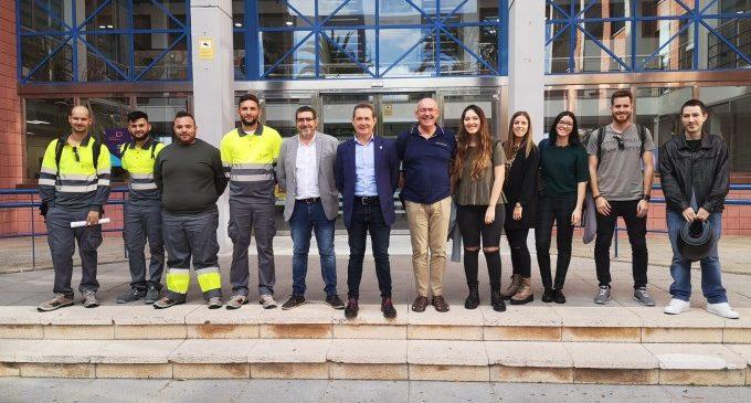 Xirivella dóna la benvinguda als i les noves contractades del programa EMPUJU