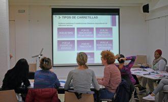 Formació de conducció de carretons per a dones a Alfafar