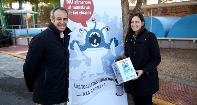 Campanya de conscienciació sobre el perill de tirar al vàter tovalloletes i productes higiènics