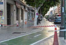 Comienzan las obras del carril bici de Primado Reig y la mejora del de la avenida del Puerto