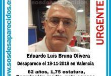 Busquen un home de 62 anys desaparegut a València des del dimarts