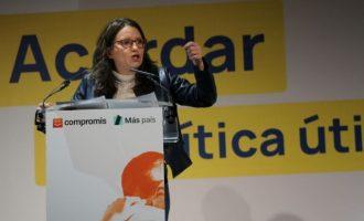"""Oltra advoca per """"descarbonitzar l'economia i descarbonitzar la política"""""""