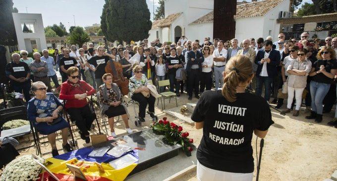 Diputació inicia l'exhumació de les 25 víctimes del franquisme de la fossa 100 de Paterna