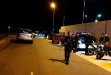 Disuelta una carrera ilegal de motos en Alzira
