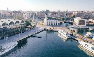 Foc en un vaixell activa el Pla d'Emergència Exterior del Port de València