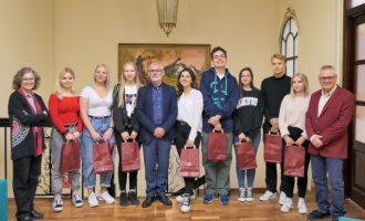 Alboraia rep a l'alumnat d'intercanvi de Finlàndia en l'IES La Patacona