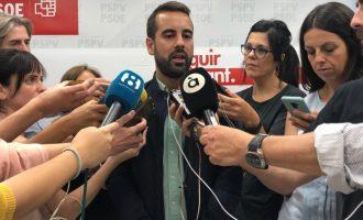 """El PSPV diu que les """"mentides"""" d'Ortiz """"s'acabaran arxivant"""""""