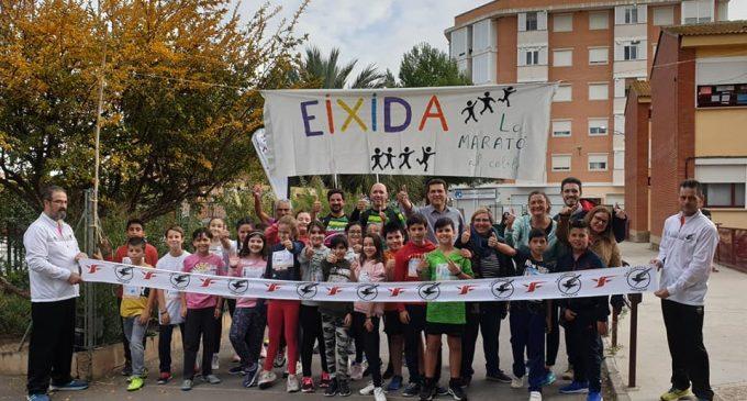 El col·legi La Fila d'Alfafar celebra La Marató al Cole