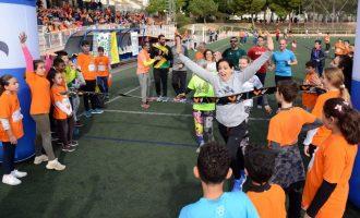 El Alumnado de L'Horta corre su propia Maratón de València