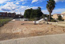 S'amplia la zona de jocs del Parc Juan Bautista Pastor de Borbotó