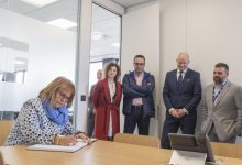 DSV inaugura una nueva planta en el polígono industrial de Picassent