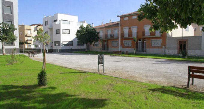 El nou aspecte de la plaça Rafael Alberti de Puçol