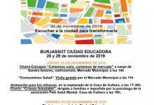 Burjassot celebra el Dia Internacional de les Ciutats Educadores