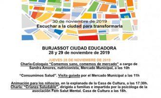 Burjassot celebra el Día Internacional de las Ciudades Educadoras