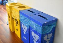 Alfafar instal·la cubs de reciclatge en les dependències municipals