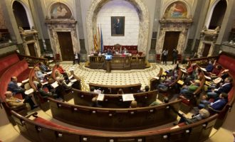 Joan Ribó gana el respaldo de la mayoría del pleno ante la propuesta de reprobación de la oposición