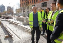 """Ribó: """"la línea 10 mejorará la conectividad de la ciudad con toda el área metropolitana"""""""