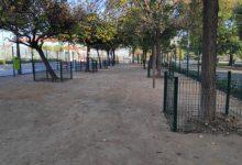 Obri al públic el nou espai per a gossos del barri de la Malvarrosa