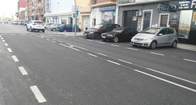 Finalizan las mejoras del pavimento del camino Cases de Bàrcena