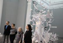 Fuencisla Francés desborda el Centre del Carme amb una obra que busca l'infinit