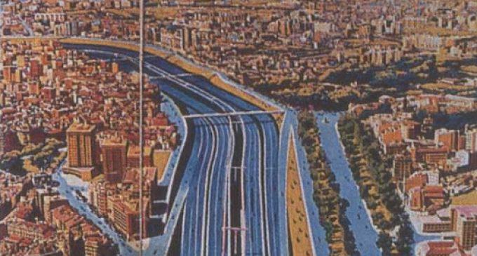 Una autopista en el Jardín del Túria; la idea 'gris' del franquismo para València