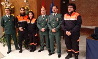 Dos voluntaris de Protecció Civil de Puçol són condecorats a Madrid