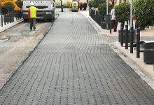Puçol paralitza les obres d'asfaltat de l'avinguda València