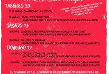 Burjassot obrirà del 20 al 22 de desembre la Fira-Mercat ambulant de Nadal