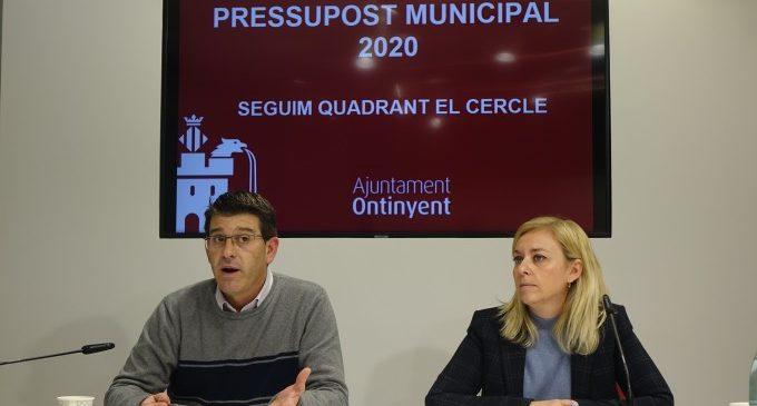 El Pressupost d'Ontinyent creix fins els 36'5 milions d'euros en 2020