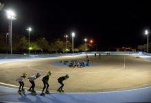 La pista de patinatge de velocitat de Paiporta estrena enllumenat