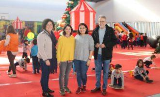 La Fira de Nadal de Albal, un reclamo divertido para los más pequeños de la casa