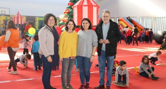 La Fira de Nadal d'Albal, un reclam divertit per als més xicotets de la casa