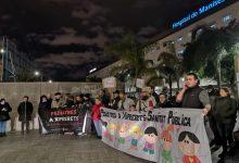 Nueva concentración en el Hospital de Manises contra la retirada del servicio de pediatría de Xiprerets