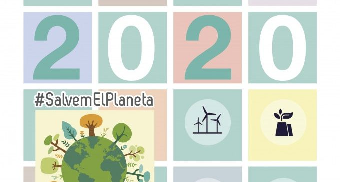 Almussafes dedica el seu calendari municipal de 2020 al canvi climàtic
