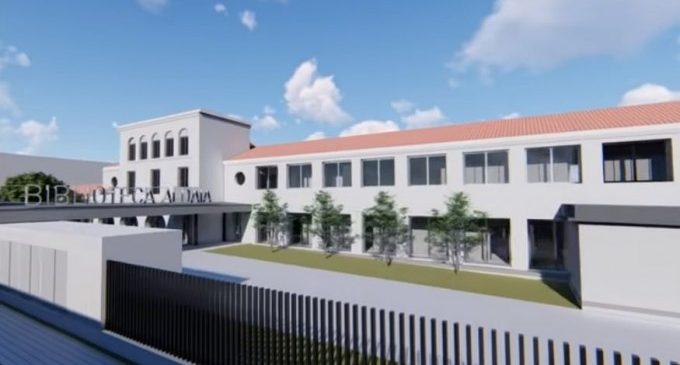 Aprobado el proyecto básico de la nueva Biblioteca de Aldaia