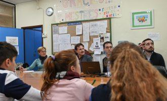 Movilidad estudia nuevas rutas escolares en Campanar