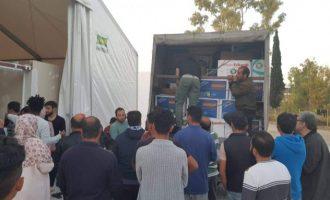 El Servicio de Juventud de Aldaia, con los refugiados