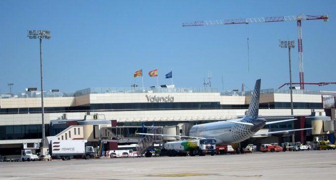 El temporal obliga a desviar dotze vols amb destinació València