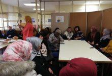 Las alumnas de Alfabetización y Aulas de Español para Inmigrantes celebran su almuerzo intercultural de fin de año