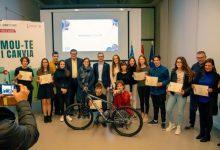 Arcadi España anima a la joventut a reivindicar la mobilitat sostenible enfront de la crisi climàtica